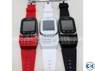 Smart stylish dual sim W1 mobile phone watch FREE BLUETOOTH