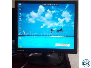 Running Lcd Monitor 17 Lcd Only 2350tk