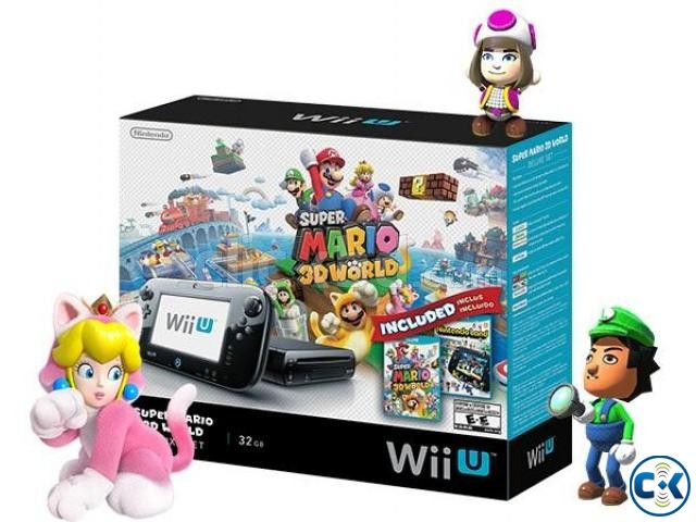Wii U 32GB Console Lowest Price brend New home delivery ser. | ClickBD large image 0