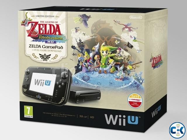 Wii U 32GB Console Lowest Price brend New home delivery ser. | ClickBD large image 2