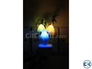 Mushroom LED Nightlight Energy Saving