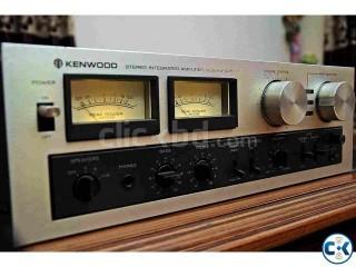 KENWOOD JAPANI VINTAGE STERIO SYSTEM VU METER.
