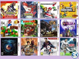 Play 3DS Games on SD Card Roms File