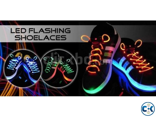 LED Shoe Laces  | ClickBD large image 0