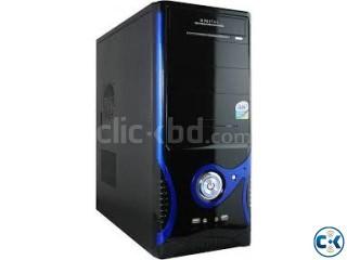 Pentium 4 Pinless 80GB 1GB Case.