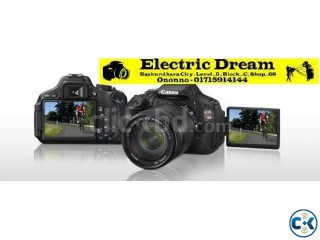 Canon 600D with 18-55 III...ELECTRIC DREAM .