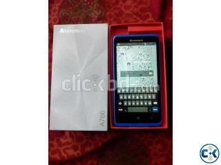 urgent new lenovo A766 with box