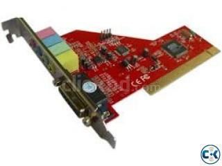 SOUND CARD FOR DESKTOP PCI SLOT