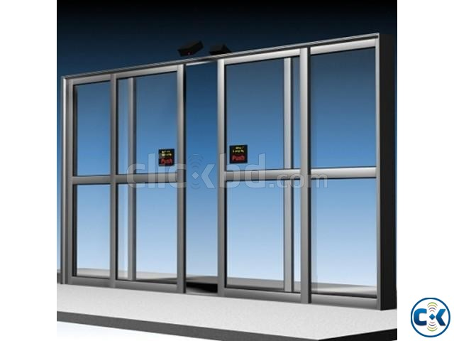 Automatic glass sliding door auto in bd