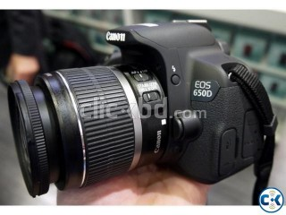 Canon 650D Body Made in JAPAN