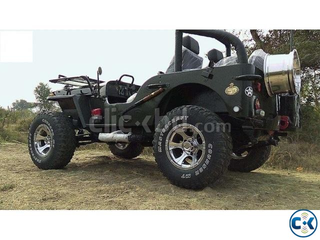 Toyota Modified Jeep Clickbd