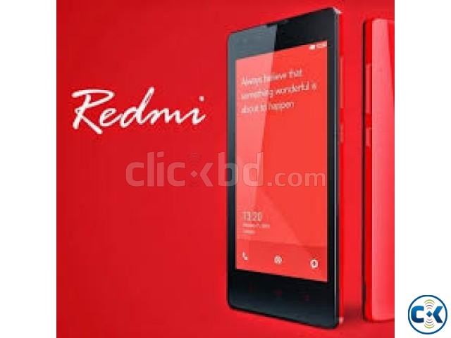 Xiaomi Redmi 2 8GB Intact Sealed Pack | ClickBD large image 0