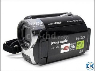 Panasonic SDR-H80 .Video Camera.Mad In Japan.Black.HDD.80GB