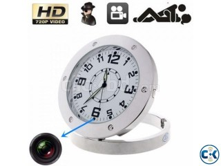 HD SPY Hidden Video Camera Table Clock Motion Detection
