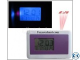 Multifunctional Projection Table Clock