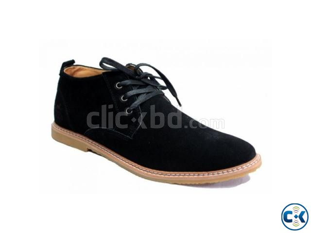 BLACK COLOR HERMES LEATHER BOOTS | ClickBD large image 0