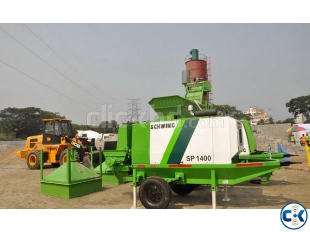Rent-Concrete pump Schwing 1400 | ClickBD