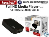 Kworld-FullHD 2D 3D Media Player 2014 -with smart Software
