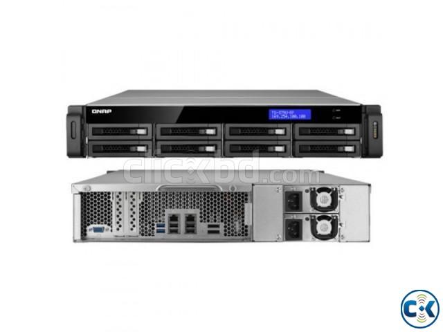 QNAP TS-879U-RP 8-Bay NAS 2U SATA III. USB 3.0 | ClickBD large image 0