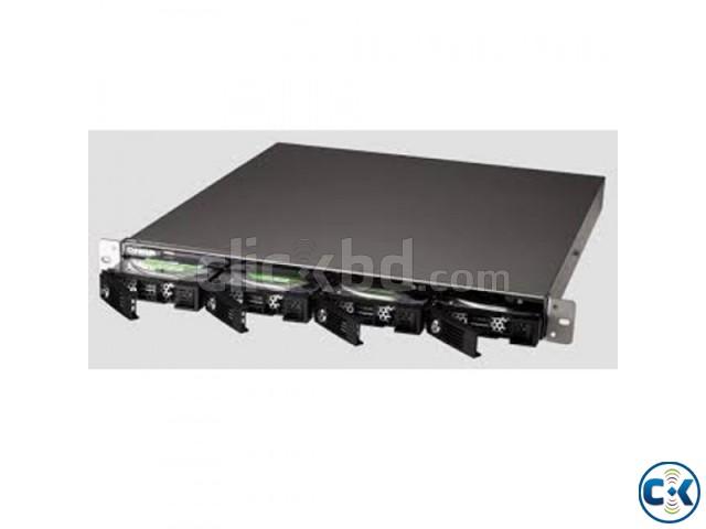 QNAP TS-420U 4-bay 1U iSCSI NAS Hot-swappable TS-420U  | ClickBD large image 0