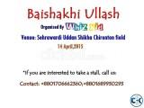 Baishakhi Ullash e stall