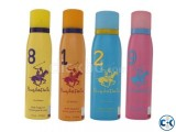 Polo women body spray