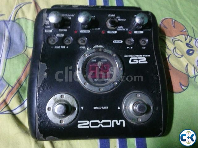 ZOOM G2 Guitar Proccessor   ClickBD large image 1