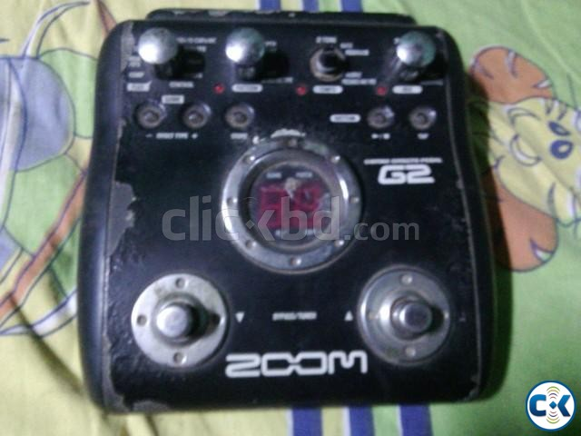 ZOOM G2 Guitar Proccessor   ClickBD large image 4