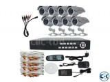 8 Channel Jovision DVR With 8 Unit Security Camera Night Vi