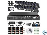 Jovision 16 Channel DVR Kit with Night vision