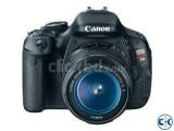 Canon EOS Rebel T3i 18 MP DSLR