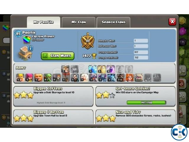 Clash of Clan Account | ClickBD large image 0