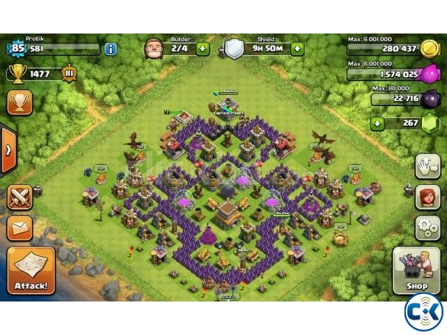 Clash of Clan Account | ClickBD large image 1