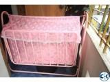 Pink color Happy Baby Bed Baby Cradle Dolna