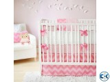 Pink color Happy Baby Bed Baby Cradle Dolna