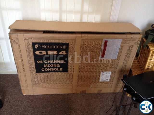 Sound craft GB-4 24 channel Brand new | ClickBD large image 1