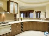 Kitchen cabinet and interior decoration