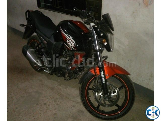 fzs 2014 showroom condition | ClickBD large image 0