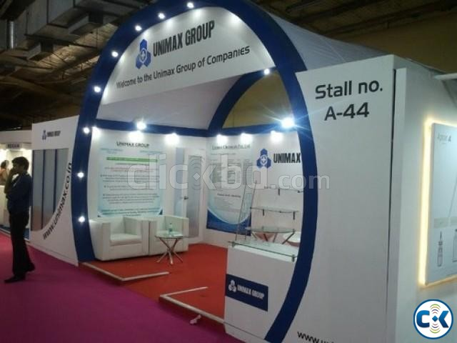 Large Exhibition Stall : Trade fair stall interior design clickbd