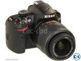 Nikon D3200 Black 24.2MP Wi-Fi 18-55mm Digital SLR Camera