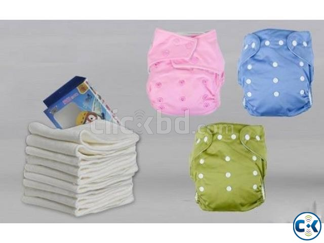 Washable Baby Diaper | ClickBD large image 0