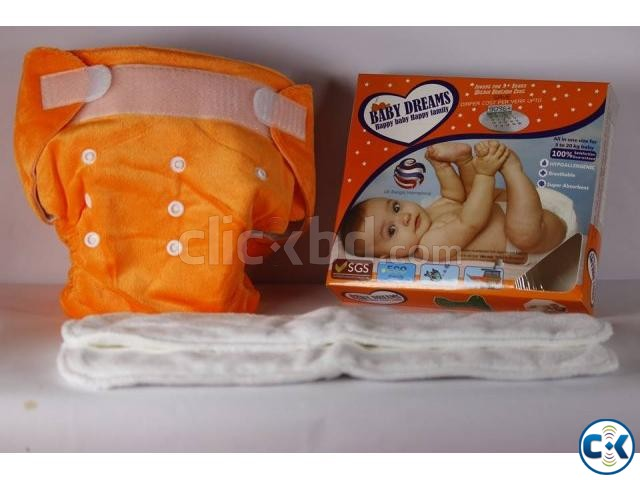 Washable Baby Diaper | ClickBD large image 2