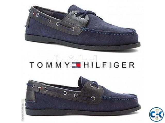 Tommy Hilfiger Men s Bowman Boat Shoes | ClickBD large image 0