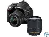 Nikon Camera Digital SLR D5300 24MP Full HD WiFi and GPS