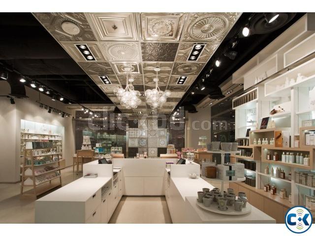 Exclusive showroom interior design decoration clickbd for Showroom interior design