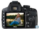 Nikon Digital SLR Camera D3200 24.2 MP DX CMOS 3 LCD 1080p