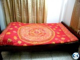 Semi double bed