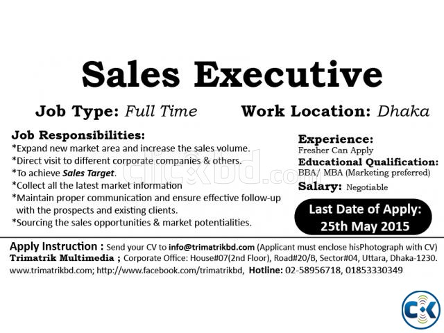 DESCRIPTION ( Sales U0026 Marketing Executive )