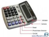 Calculator with Hidden Spy Camera