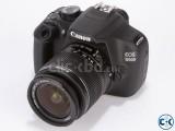 Canon EOS 1200D DLSR 18-55mm lens